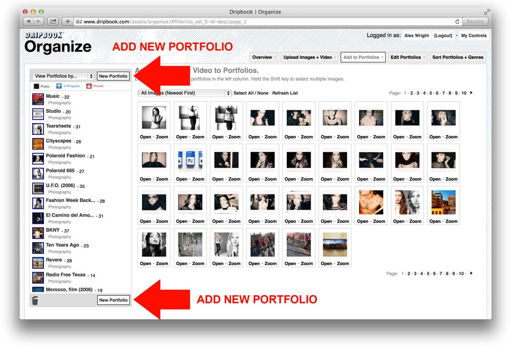 FAQs | Creative Marketing | Online Portfolios | Dripbook