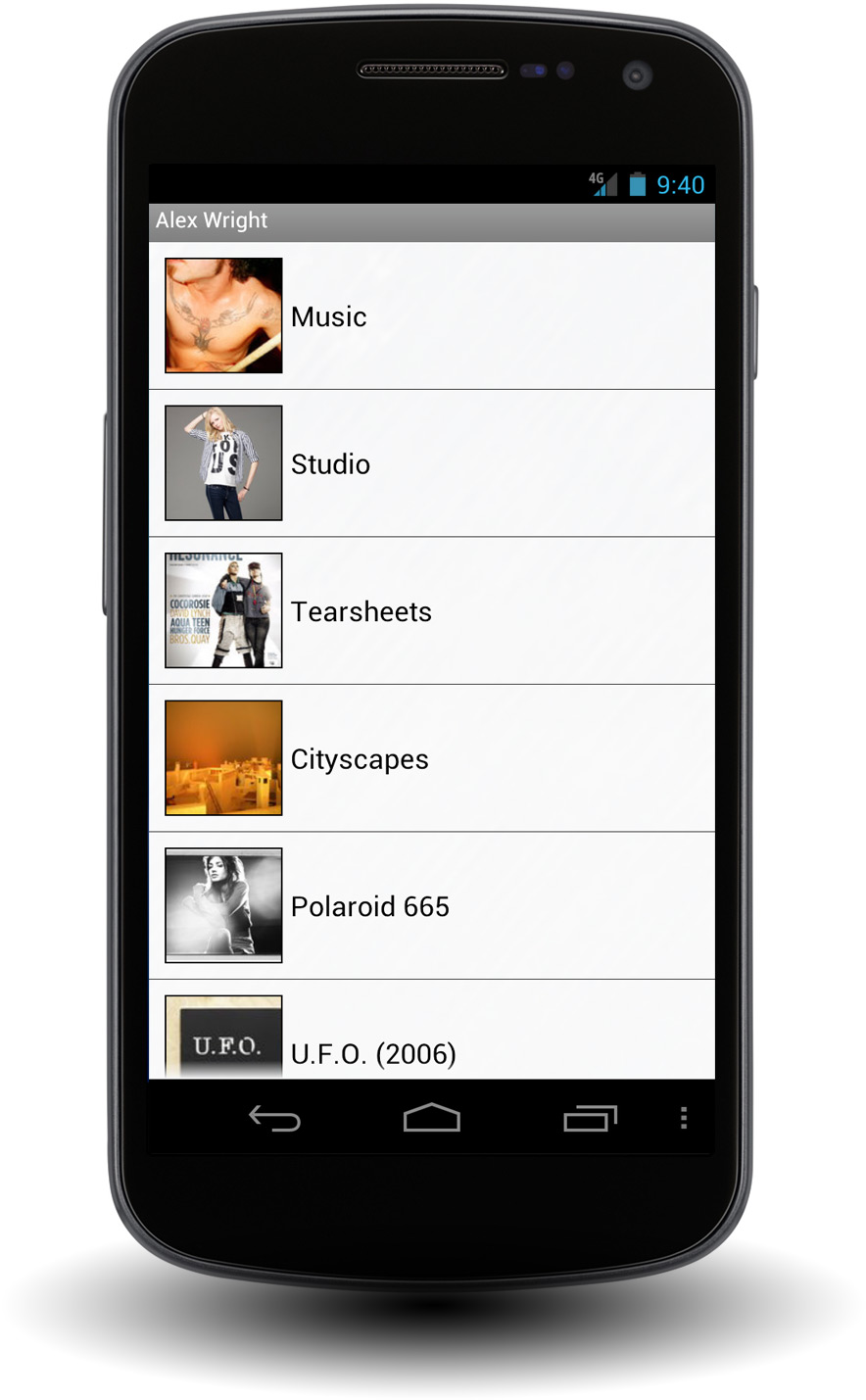 Dripbook's Android App