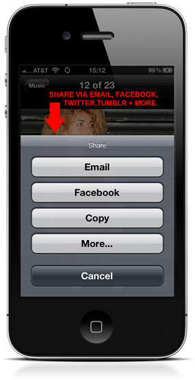 Dripbook's iPhone iPad App